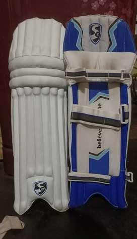 Cricket kits for sell, Batting pad,thigh pad and lefty batting gloves