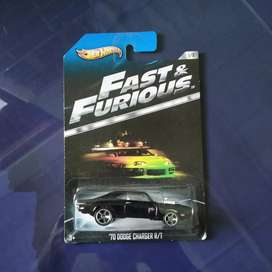 Hotwheels Dodge charger fast and furious