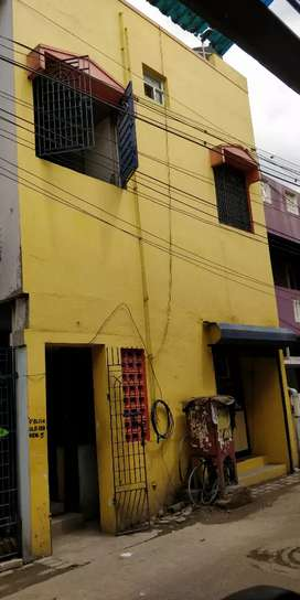 SELLING LAND WITH BUILDING .( Ground  flr , first flr & second flr )