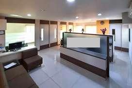 900sq ft CARPET furnished office at Akshar Chauk