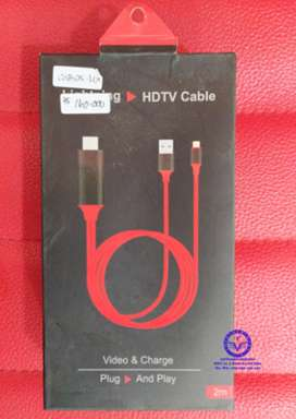 CABLE IPHONE 7 TO HDMI/HDTV 2M(PLUG&PLAY) LEXCRON / CAB25-LEX