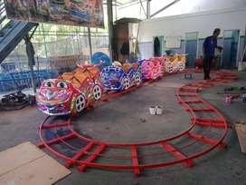 Odong odong kereta panggung tayo poli EK mini coaster fiber wisata