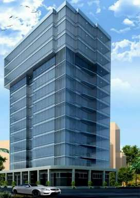 AQ office jinnah Face available for rent