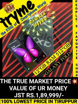 TRYME 512GB+12Gb Ram GALAXY FOLD Full Kit Box