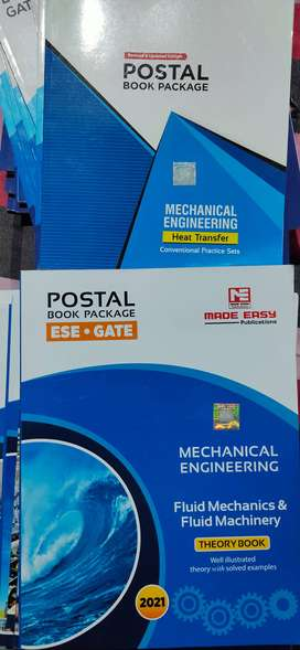 Mechanical MADE EASY POSTAL STUDY Course Books Gate ESE 2021