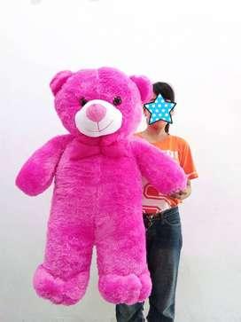 Boneka Teddy Bear Pink Fanta Jumbo Ukuran 1 Meter