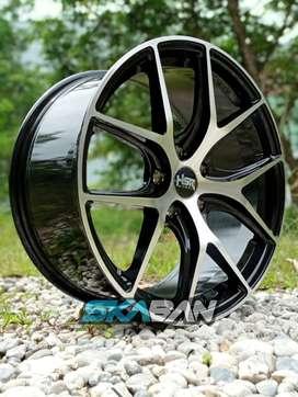jual velg hsr wheel ring 18 utk mobil hrv,crv,xtrail,civic
