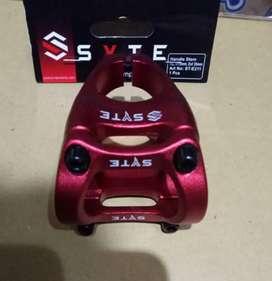 Stem Stang Sepeda Oversize 31.8 Syte Merah