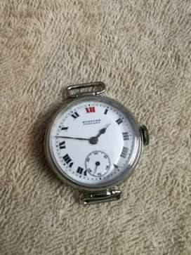 Vintage military watch by Spencer Swiss made with side seconds French