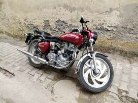 Royal Enfield Electra 350 CC , Cherry Color ,