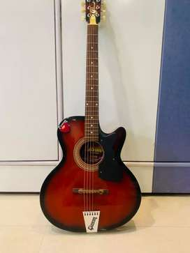 Professional Guitar Gioson Red Colour made of Rosewood