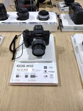 Canon eos m50 bunga 0%