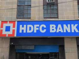 Required fresher male and female candidate in hdfc bank