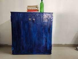 Antique Cabinet (Blue)