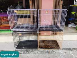Kandang Kucing kualitas Lokal uk 60cm