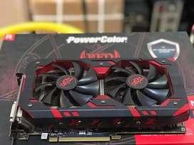 VGA Card Power color Red Devil RX580 8GB