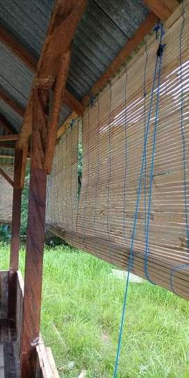 Jual tirai bambu baru dan kualitas nomer satu