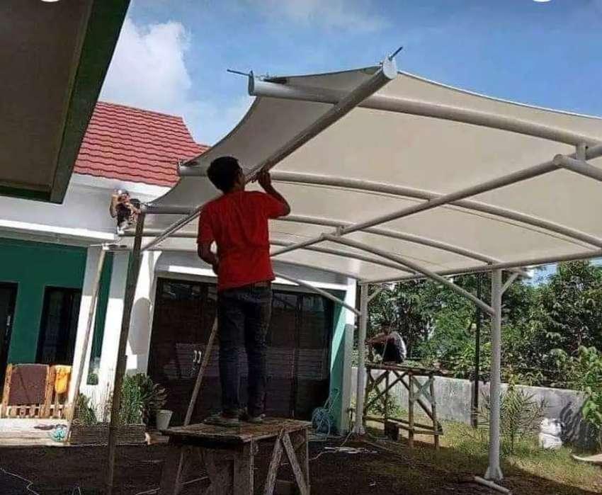 Bengkel las kanopi atap berbagai jenis