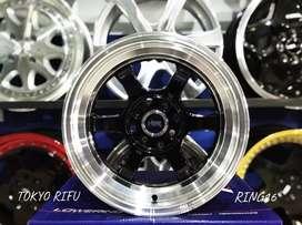 Velg Mobil Celong R15 TOKYO RIFU HSR Ring 15 Buat Brio Calya Ayla Jazz