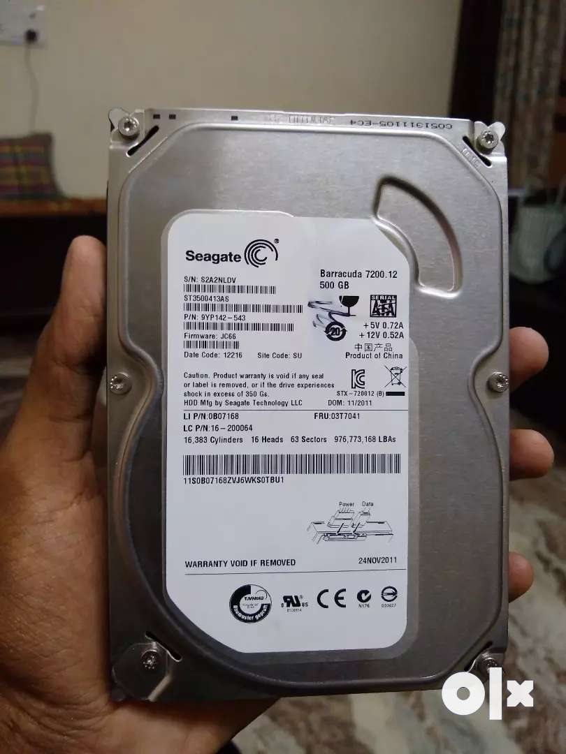 500Gb internal Hard disk for pc 0