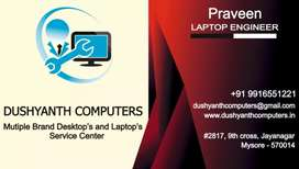 Best Computer and Lpatop service center Mysore