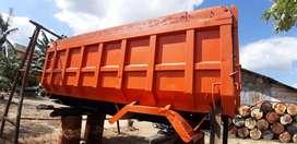 Hydraulic dump fuso