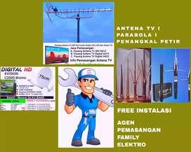 Spesialis antena dan parabola ahli pasang antena tv full hd
