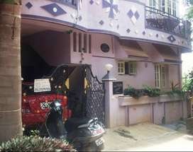 2BHK semi furnished house for rent just 2kms from Manyata tech park