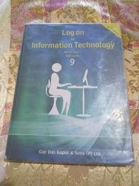 Information Technology 9 Class book .