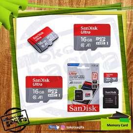 SanDisk Ultra MicroSDHC UHS-I 16GB Class 10