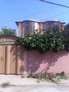 Upper portion with a big terrace in prime location of Bharakau