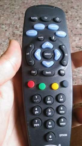 TataSky TV Tata sky box with Remote with USB mint condition