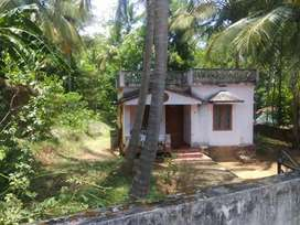 House with 20 cent plot in Tharur, Alathur