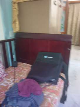 Well maintained toddler bed with the Mattress.