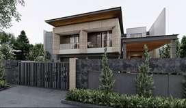 Dijual Rumah Baru Minimalis di Setra Duta LT:700 LB:700, Kolam Renang