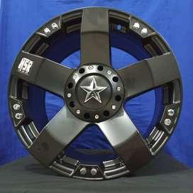 Velg Mobil Fortuner Pajero Hilux Triton Ring17 Lobang 6x139,7