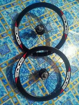RIMS Velg 20 Minion sepeda lipat discbrake