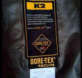 Jaket outdoor gunung K2 GORETEX womens Original