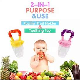 Pacifier Fresh Fruit Food Baby Feeding Safe Fruit Feeder