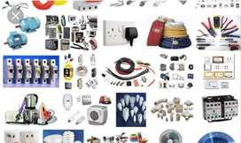 Electrical,plumping,sanitary,tiles and furniture