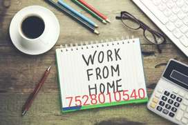 Call us for Ebook typing work part time home based