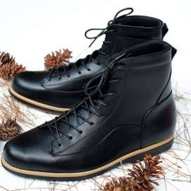 Sepatu boot pria kulit Model Special-Bruno (Kickers,Delta,Caterpillar)