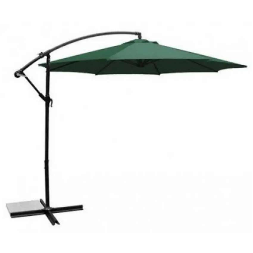 Outdoor garden umbrella and lawn chairs available