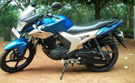 Yamaha Szr with new tyre