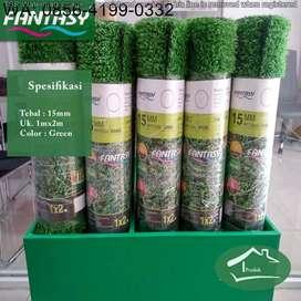 Produsen Karpet Rumput Sintetis Untuk Taman Ukuran 30mm