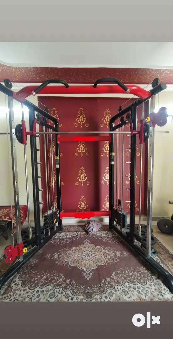 Functional trainer with smith machine 0
