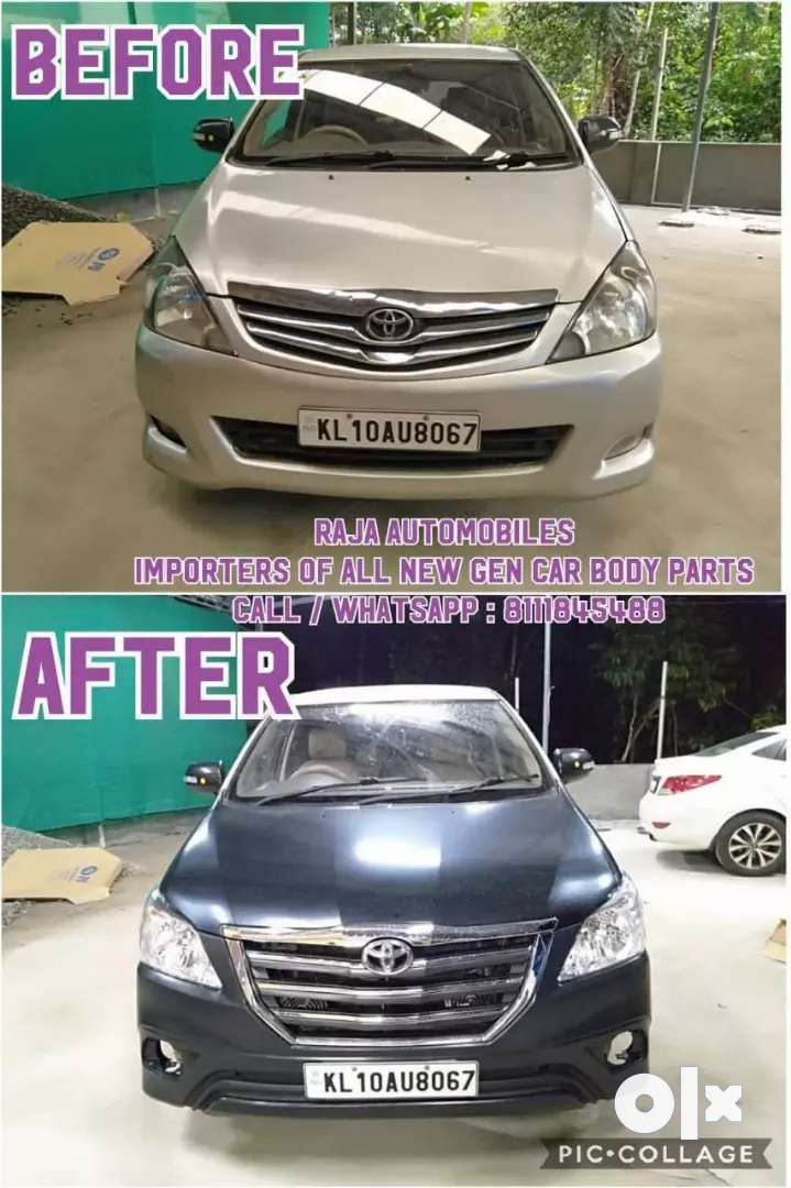 Innova Type4 Front Grill full chrome Z model 0