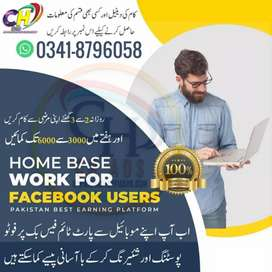 Online business work