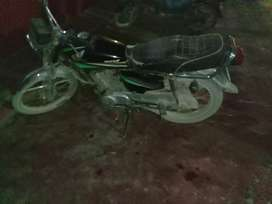 New Honda 125 turbo alter sahid hussain
