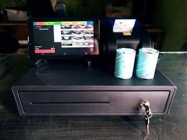 Aplikasi Mesin Kasir Android / Tablet Restoran, Cafe Program Penjualan